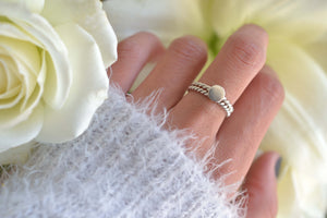 Bague en Argent Rhita Creations, made in Morocco, en vente chez Dar D'art Le Collectif
