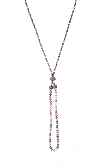Collier Pierres & Ananas, made in Morocco, en vente chez Dar D'art Le Collectif