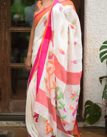 simple yet adorable saree
