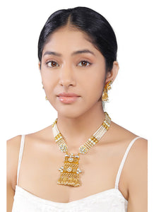 Avantika Necklace Set - Lashkaraa