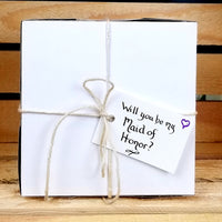 Will You Be My Maid of Honor Gift Box, Personalized Gift, wedding party gift