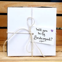 Will You Be My Bridesmaid Gift Box, Personalized Gift set, wedding party gift