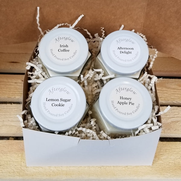 Personalized gift box, soy candle gift box, candles gift set