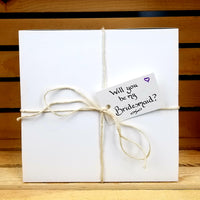 Will You Be My Bridesmaid Gift Box, Personalized Gift