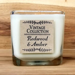 Wooden Wick Soy Candle - Redwood & Amber