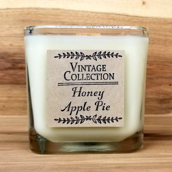 Wooden Wick Soy Candle - Honey Apple Pie