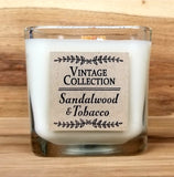 Wooden Wick Soy Candle - Sandalwood & Tobacco