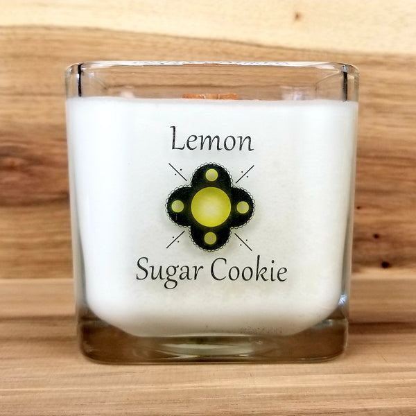 Wooden Wick Soy Candle - Lemon Sugar Cookie