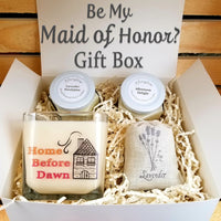 Be My Maid of Honor? Deluxe Gift Box- Meditation