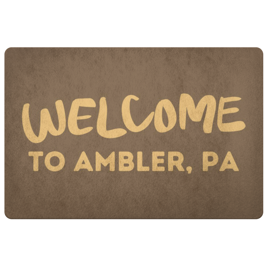 Welcome to Ambler Doormat!