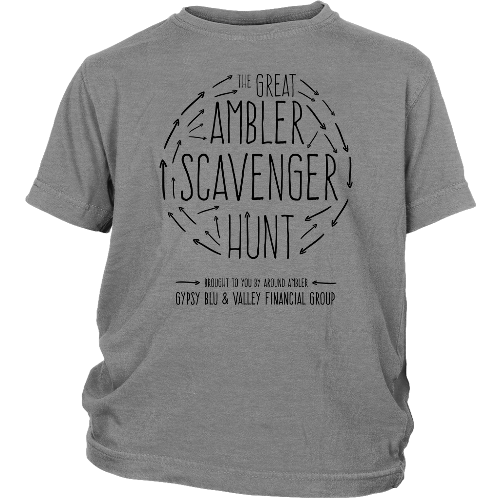 The Great Ambler Scavenger Hunt Youth T-Shirt