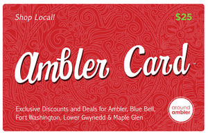 The Ambler Card™ - Save Hundreds of Dollars a Year Shopping Local