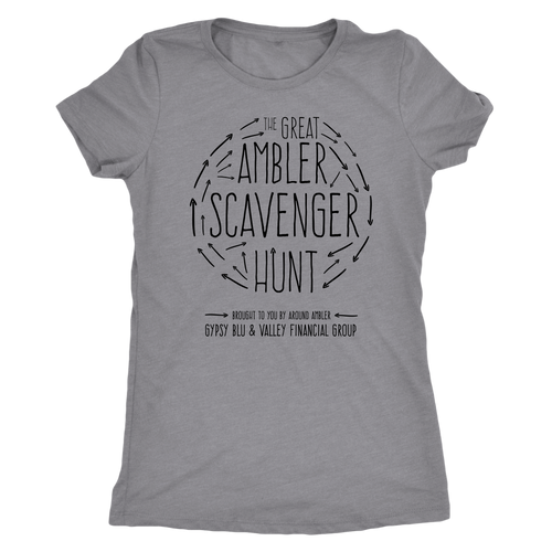The Great Ambler Scavenger Hunt Womens T-Shirt