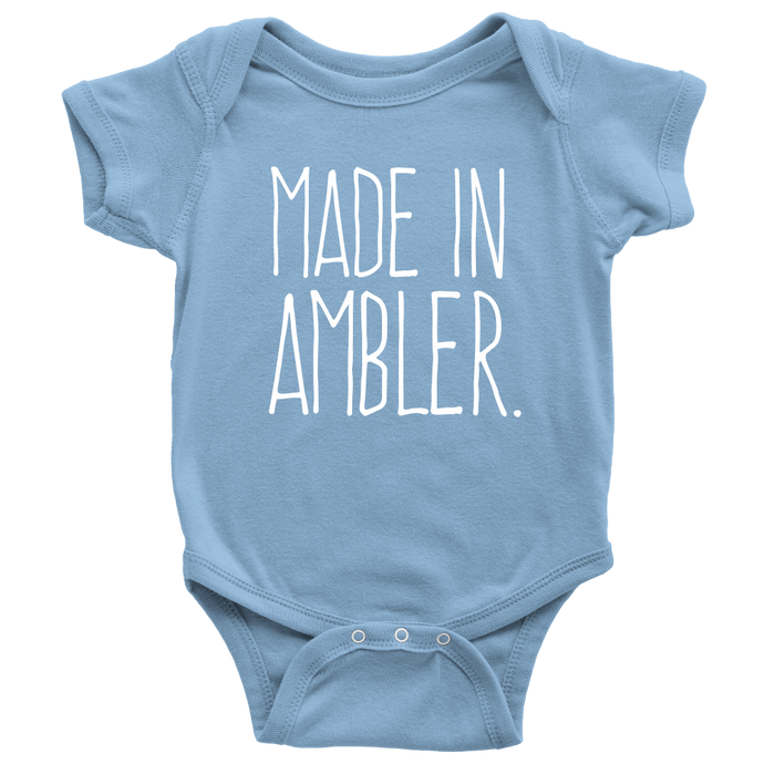Made In Ambler Onesie