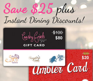 $80 for $100 Gypsy Blu Gift Card + $5 Off Ambler Card Deal