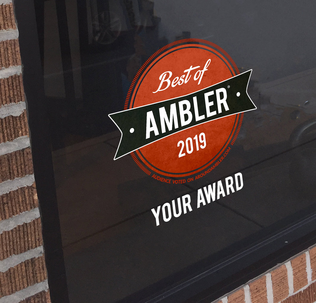 Best Of Ambler Window Cling