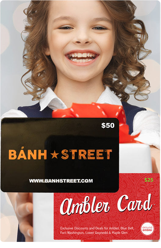Exclusive: $25 Off $75 Banh Street/Ambler Card Bundle