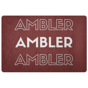 Repeating Ambler Doormat!