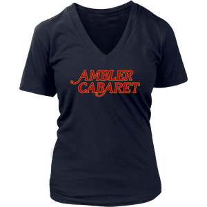 Ambler Cabaret Throwback Womens V-Neck