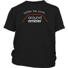Flatten The Curve Around Ambler - Youth T-Shirt