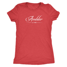 Ambler Established 1682 Womens Triblend T-Shirt