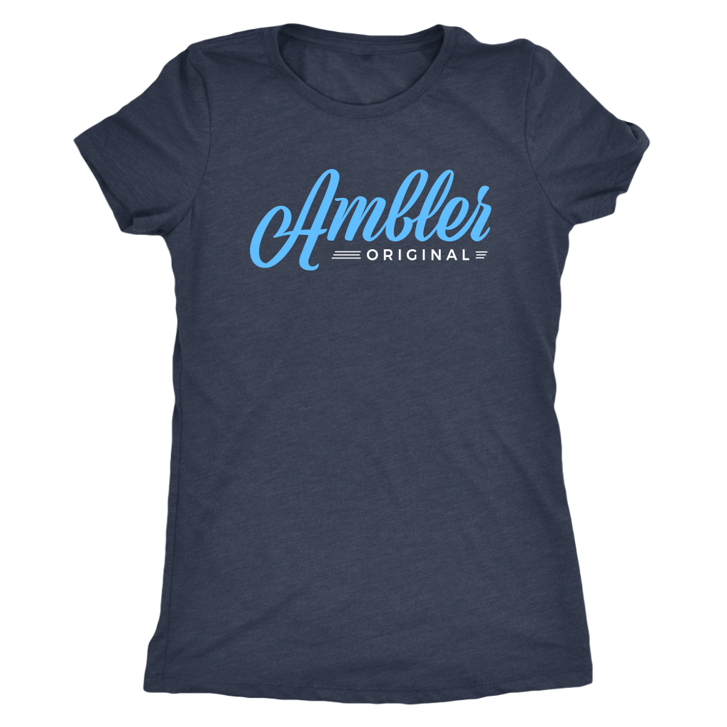 Ambler Original Womens Triblend T-Shirt