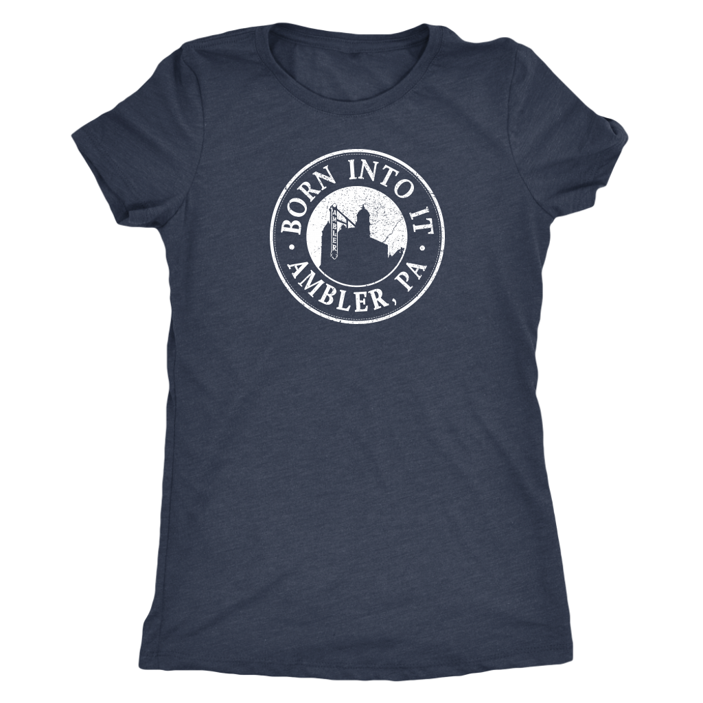 Born Into It - Ambler - Womens Triblend T-Shirt