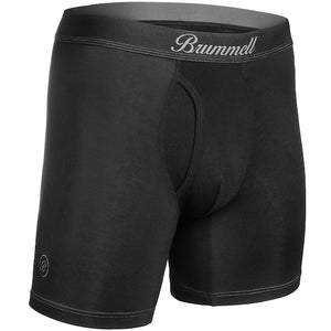 Brummell Boxer Brief - Black