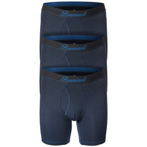 Navy Boxer Briefs 3-Pack