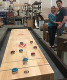 Family Owned Venture Crafts Beautiful 22 ft Shuffleboard Tables