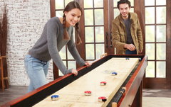 Ensure you have enough space for your shuffleboard table.