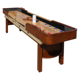 Hathaway 12' Merlot Shuffleboard Table