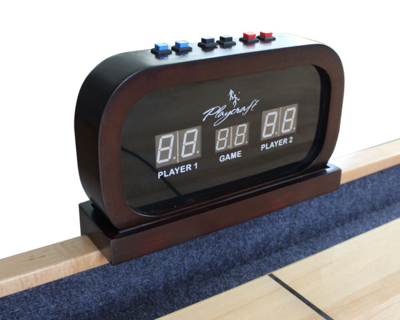 Electronic Scorer for Home Recreation Shuffleboard Table