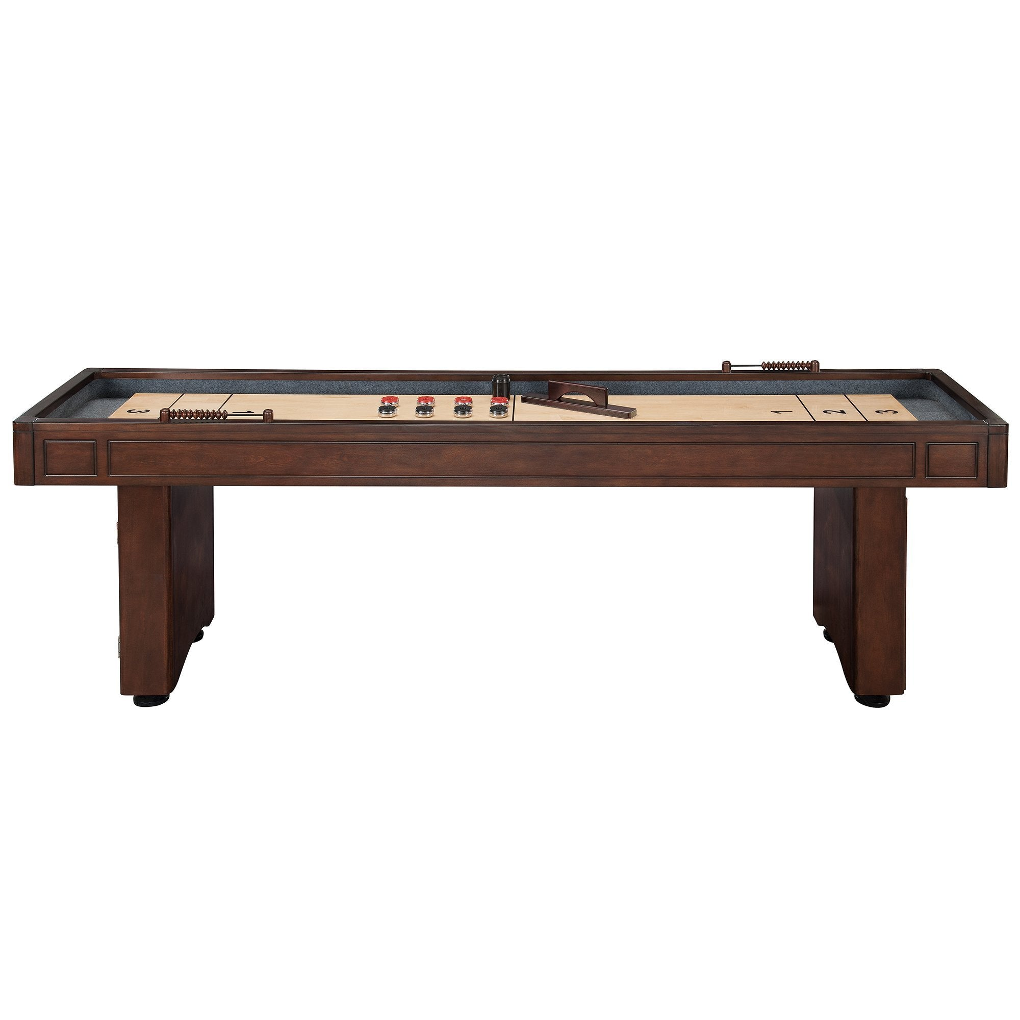 itm with barrington new wine shuffleboard rack wood brand table classic ft