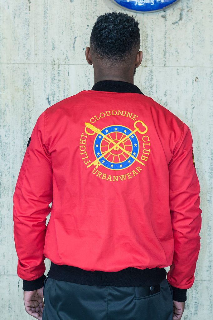 RED FC FLIGHT JACKET