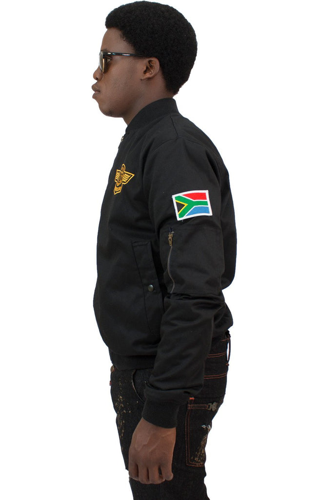 BLACK FC FLIGHT JACKET