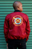 MAROON FC FLIGHT JACKET
