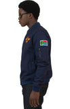 NAVY FC FLIGHT JACKET