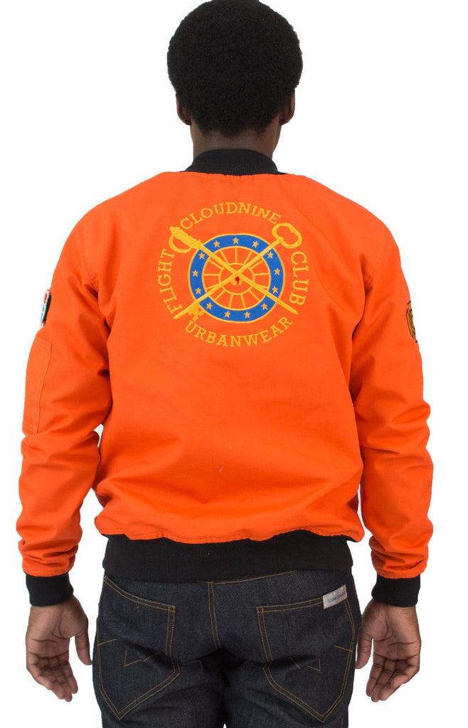 ORANGE FC FLIGHT JACKET