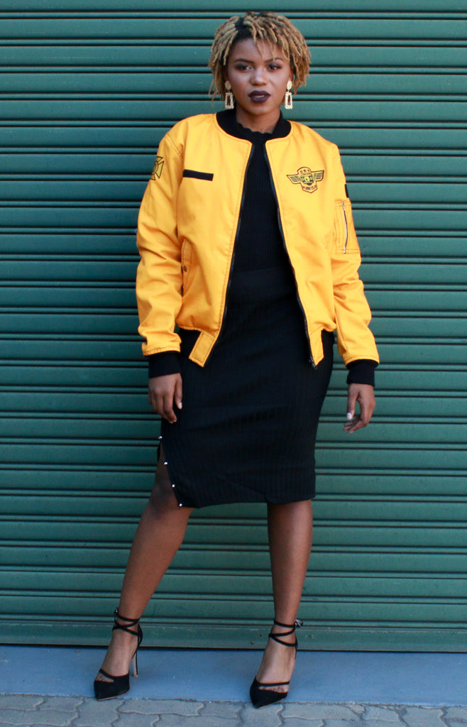 MUSTARD FC FLIGHT JACKET