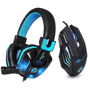 CANLEEN R8 Gaming Headphones & X7 Gaming Mouse