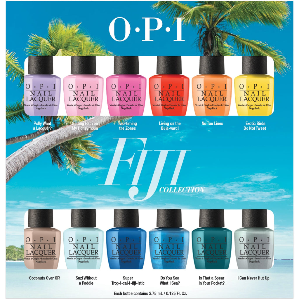 OPI Takes Us to Fiji for Spring 2017