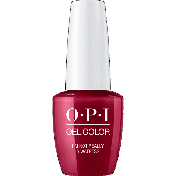OPI GELCOLOR, I'M NOT REALLY A WAITRESS