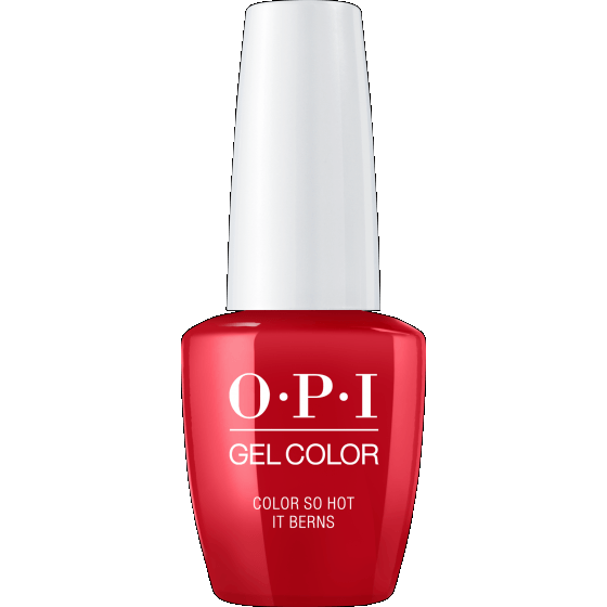 OPI GELCOLOR, COLOR SO HOT IT BERNS