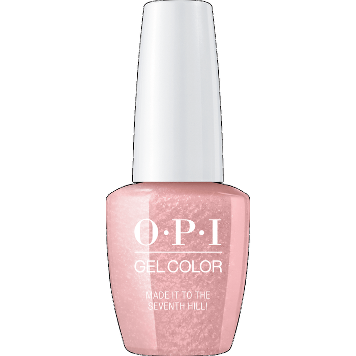 OPI GELCOLOR, MADE IT TO THE SEVENTH HILL