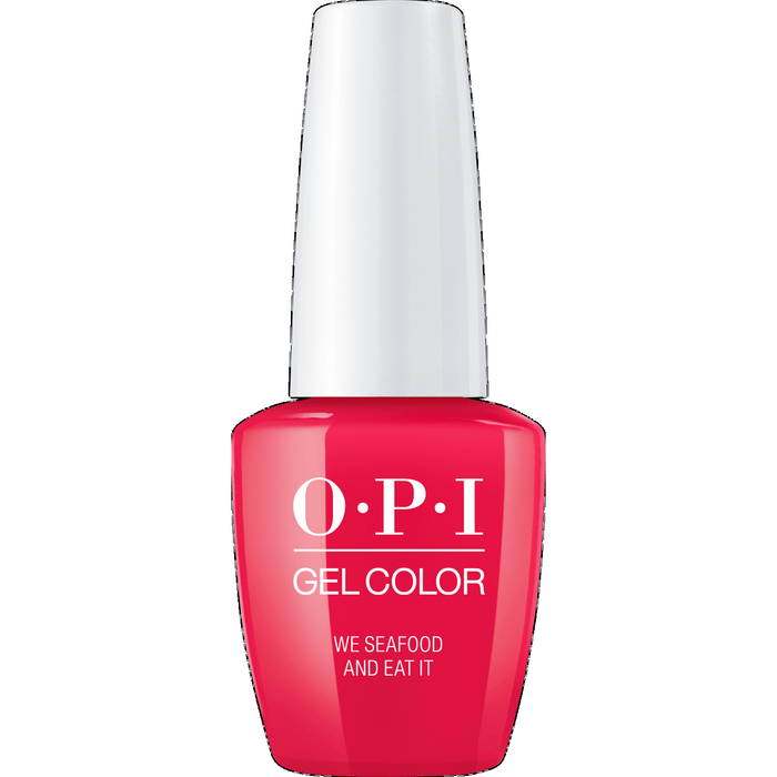 OPI GELCOLOR, WE SEAFOOD AND EAT IT