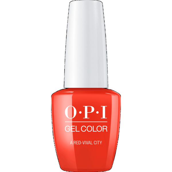 OPI GELCOLOR, A RED-VIVAL CITY - L22