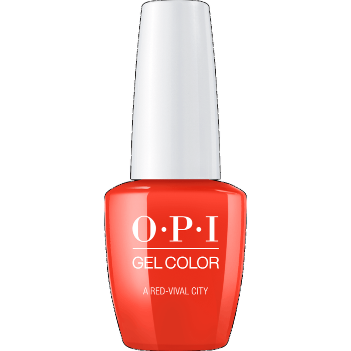 OPI GELCOLOR, A RED-VIVAL CITY