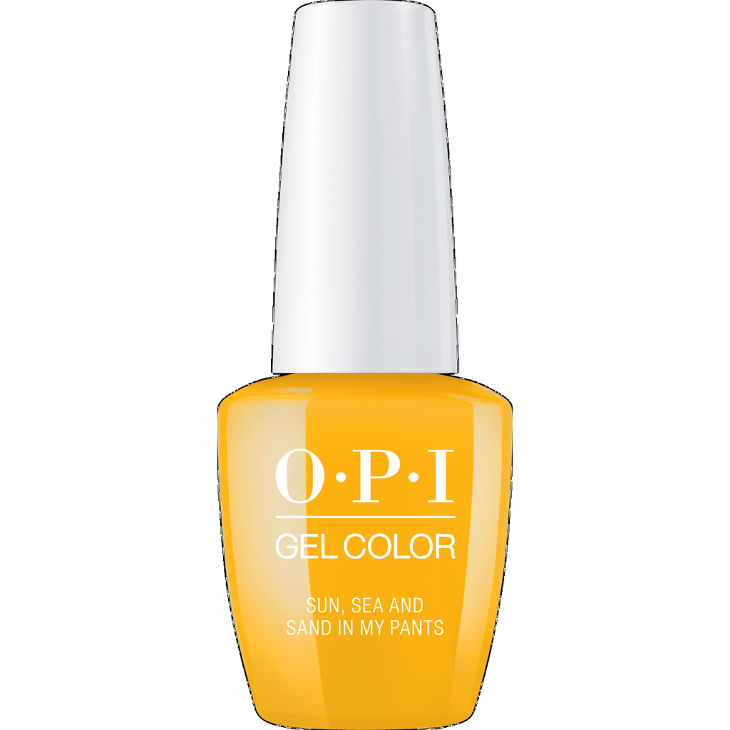 OPI GELCOLOR, SUN, SEA, AND SAND IN MY PANTS - L23