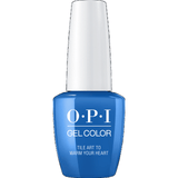 OPI GELCOLOR, TILE ART TO WARM YOUR HEART